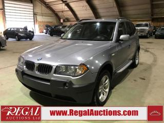Used 2005 BMW X3 4D Utility AWD for sale in Calgary, AB