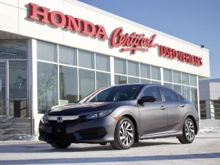 Used 2016 Honda Civic EX | SUNROOF | CARPLAY for sale in Winnipeg, MB