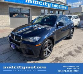 Used 2011 BMW X6 M AWD | FULLY LOADED | SUNROOF | NAV | CLEAN CARFAX for sale in Niagara Falls, ON