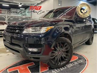 Used 2017 Land Rover Range Rover Sport V8 SC DYNAMIC I RED LTHR I NAVI COMING SOON for sale in Vaughan, ON