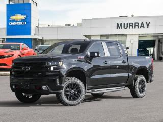New 2021 Chevrolet Silverado 1500 LT Trail Boss for sale in Winnipeg, MB