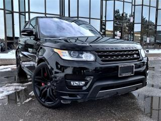 Used 2017 Land Rover Range Rover Sport AUTOBIOGRAPHY|RED INTERIOR|PANORAMIC|DIGITAL CLUSTER| for sale in Brampton, ON
