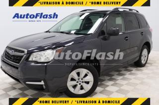 Used 2017 Subaru Forester *2.5i *MAGS *AWD *CAMERA *CRUISE *A/C for sale in Saint-Hubert, QC