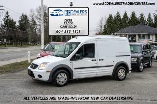 Used 2012 Ford Transit Connect XLT  Cargo Van, Only 110,000km's, Bulkhead, Shelving! for sale in Surrey, BC