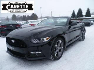 Used 2017 Ford Mustang Convertible for sale in East broughton, QC