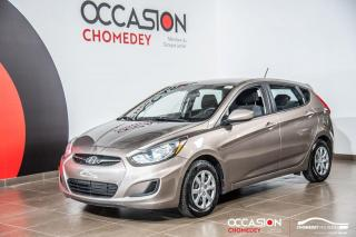 Used 2013 Hyundai Accent L+GR/ELECT+SIEGE/CHAUFF for sale in Laval, QC