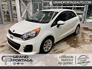 Used 2016 Kia Rio Hayon 5 portes, boîte manuelle, LX for sale in Rivière-Du-Loup, QC
