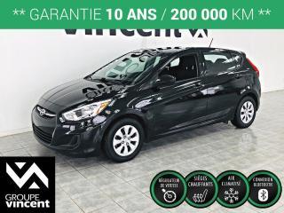 Used 2017 Hyundai Accent GL ** GARANTIE 10 ANS ** Fiable et logeable, voici l'occasion d'avoir une voiture récente à bas prix! for sale in Shawinigan, QC