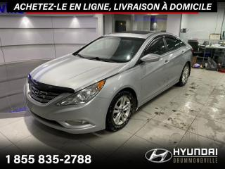 Used 2011 Hyundai Sonata GLS + GARANTIE + TOIT + A/C + MAGS + WOW for sale in Drummondville, QC
