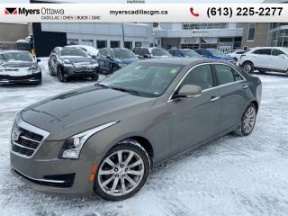 Used 2017 Cadillac ATS Sedan Luxury  AWD, 2.0 TURBO, NAV, BOSE SOUND, DRIVER AWARNESS PACKAGE for sale in Ottawa, ON