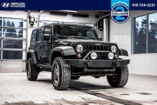 Used 2011 Jeep Wrangler 4WD Rubicon chez Rimouski Hyundai for sale in Rimouski, QC