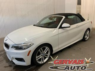 Used 2017 BMW 2 Series 230i xDrive AWD Convertible Cuir Rouge Mags for sale in Trois-Rivières, QC
