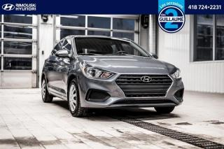 Used 2020 Hyundai Accent Essential chez RImouski Hyundai for sale in Rimouski, QC