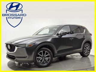 Used 2018 Mazda CX-5 AWD GT NAV LIGNE ASSIST HEADS UP DISPLAY for sale in Brossard, QC