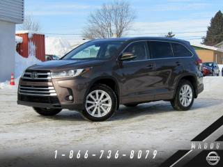 Used 2017 Toyota Highlander LIMITED + AWD + GARANTIE + 7 PLACES! for sale in Magog, QC