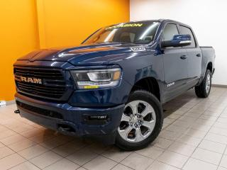 Used 2019 RAM 1500 BIG HORN CREW 4X4 CAMÉRA *SIÈGES / VOLANT CHAUFF* for sale in Mirabel, QC