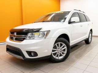 Used 2017 Dodge Journey SXT LIMITED NAV SIÈGES CHAUFF TOIT DVD *BAS KM* for sale in Mirabel, QC