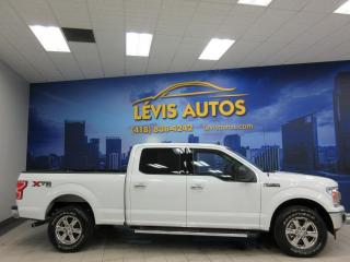 Used 2019 Ford F-150 XLT XTR 15800KM V8 5.0L SUPERCREW CAB BO for sale in Lévis, QC