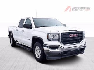 Used 2018 GMC Sierra 1500 CREW CAB 4X4 V8 A/C MAGS CAMERA DE RECUL for sale in St-Hubert, QC
