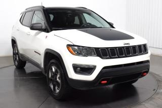 Used 2018 Jeep Compass TRAILHAWK 4X4 CUIR TOIT  GPS MAGS for sale in Île-Perrot, QC