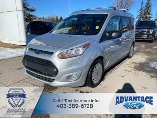 Used 2017 Ford Transit Connect XLT TRAILER HITCH - MOON ROOF -REMOTE START for sale in Calgary, AB
