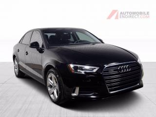 Used 2017 Audi A3 KOMFORT QUATTRO CUIR TOIT MAGS for sale in St-Hubert, QC