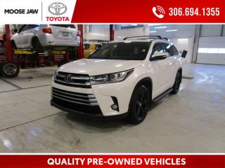 Used 2017 Toyota Highlander Limited **CLEAN HISTORY**1 OWNER**REMOTE START**BROWN IINTERIOR for sale in Moose Jaw, SK