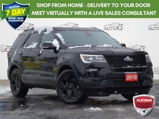 Used 2019 Ford Explorer Sport SPORT| 3.5L | 4WD | TWIN PANEL MOONROOF | LEATHER | HEATED STEERING WHEEL | HEATED/COOLED SEATS | for sale in Waterloo, ON