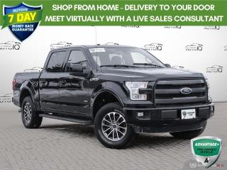 Used 2016 Ford F-150 Lariat | HEATED SEATS | PARKING CAMERA | for sale in Barrie, ON