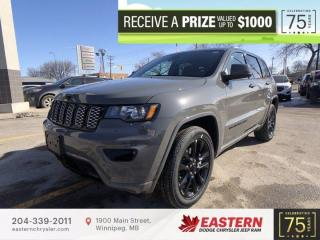 New 2021 Jeep Grand Cherokee Altitude | Sunroof | Fwd. Collision w/ Active Brk. | for sale in Winnipeg, MB
