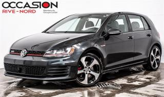 Used 2015 Volkswagen Golf GTI Autobahn CUIR+TOIT.OUVRANT for sale in Boisbriand, QC