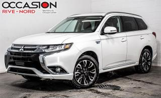 Used 2018 Mitsubishi Outlander Phev SE S-AWC CUIR+TOIT.OUVRANT+CAM.RECUL for sale in Boisbriand, QC