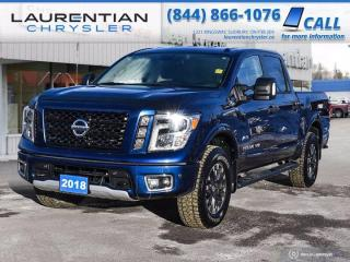 Used 2018 Nissan Titan PRO-4X!! HEATED SEATS!! HEATED WHEEL!! BACKUP CAM!! for sale in Sudbury, ON