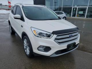 Used 2018 Ford Escape Titanium Heated Seats & Wheel, PANO Sunroof, NAV! for sale in Ingersoll, ON
