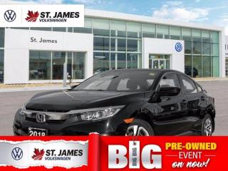 Used 2018 Honda Civic SEDAN LX for sale in Winnipeg, MB