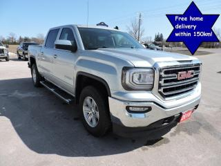 Used 2018 GMC Sierra 1500 SLE Crew 4X4 1 owner Only 36000 km for sale in Gorrie, ON