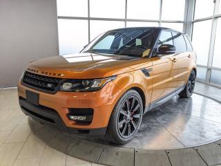 Used 2017 Land Rover Range Rover Sport V8 SC Dynamic for sale in Edmonton, AB