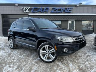 Used 2015 Volkswagen Tiguan Highline R-line for sale in Calgary, AB