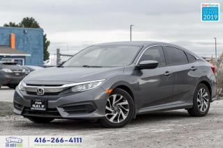 Used 2016 Honda Civic EX|Back up camera|Sunroof|Bluetooth|Heated Seats| for sale in Bolton, ON