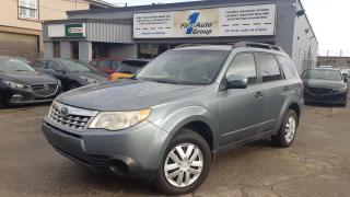 2011 Subaru Forester X Convenience Bluetooth  h/seats