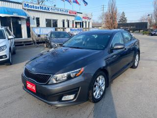 Used 2014 Kia Optima EX-NEW TIRES-ACCIDENT FREE for sale in Stoney Creek, ON