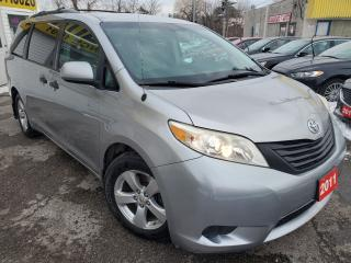 Used 2011 Toyota Sienna CAPTIN SEATS/STOW&GO/LOADED/ALLOYS for sale in Scarborough, ON
