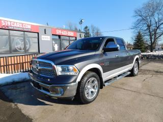 Used 2016 RAM 1500 Laramie | Leather | Remote Start | Heated seats for sale in St. Thomas, ON