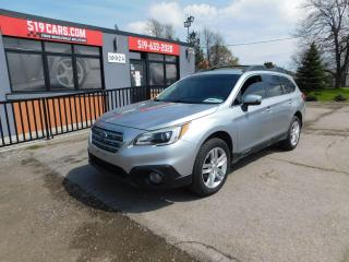 Used 2015 Subaru Outback | Leather | Sunroof | Nav | New Wheels and Tires for sale in St. Thomas, ON