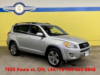 Used 2010 Toyota RAV4 Sport AWD, Leather, Sunroof for sale in Vaughan, ON
