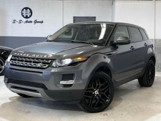 Used 2015 Land Rover Range Rover Evoque PURE PLUS|NAV|BACK UP|PANO ROOF|MERIDIAN SOUND| for sale in Oakville, ON