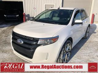 Used 2012 Ford Edge Sport 4D Utility AWD 3.7L for sale in Calgary, AB