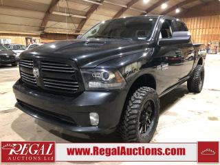 Used 2017 RAM 1500 Sport 4D Crew CAB 4WD for sale in Calgary, AB