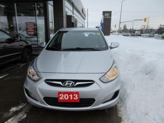 Used 2013 Hyundai Accent L for sale in Nepean, ON