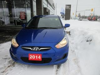 Used 2014 Hyundai Accent GL for sale in Nepean, ON